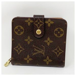 Authentic Louis Vuitton Monogram Trifold Wallet